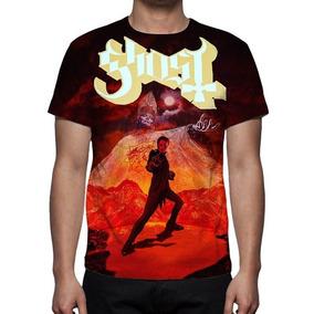 Camiseta, Camisa Banda Ghost - Música - Promoção