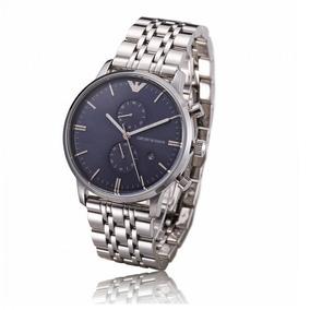 0026ee7b667 Relogios Emporio Armani Masculino Prata - Relógios no Mercado Livre ...