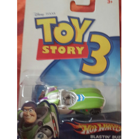 Carrito Hot Wheels Coleccion Toy Story Buzzligthyear