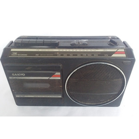 Antigo Radio Gravador Da Marca Sanyo (cod.3156)