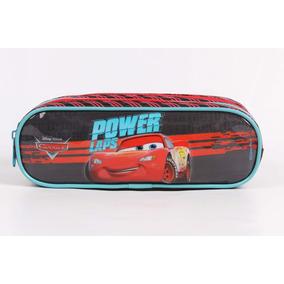 Estojo Carros 3 Div. Power Laps Original - Dermiwil