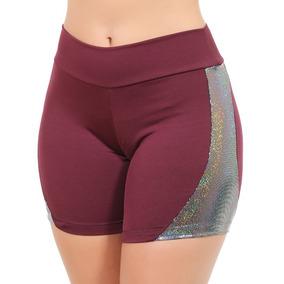 Kit 10 Short Femininas Fitness Short Roupas Brilho 9857