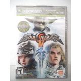 Soul Calibur 4 Xbox 360 Juego Fisico