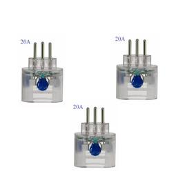 Clamper Protetor Pocket 3p 20a Dps Raio Surto Kit C/ 3