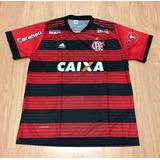 Camisa Flamengo 2018/19 Preto/vermelho Preço Atacado Barata