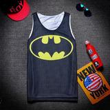 Camiseta Para Basketball Logo De Batman