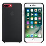 Apple Iphone 7/8 Plus Case Silicona Negra Original.