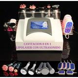 Ultracavitador 8 En 1 Lipolaser +vacuum +rf +ultrasonido