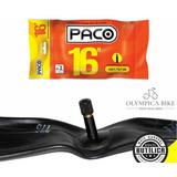 Câmara De Ar Bicicleta Bike Aro 16 - Premium Top Paco
