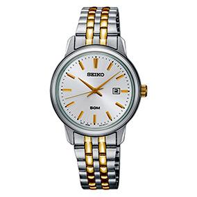 Relógio Seiko Feminino Prateado Analógico Sur661b1