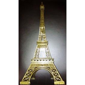 Torre Eiffel 60 Cm De Metal