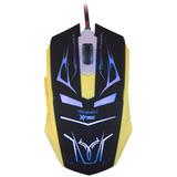 Mouse Gamer Iluminado Xfire Neith Azul 3200dpi Com 7 Botões