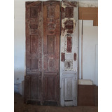 Puerta De Madera Con Antiguedad De 100 Años