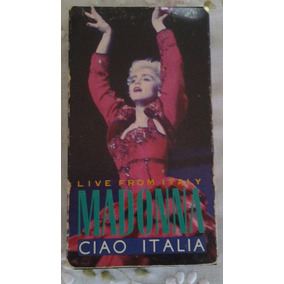 Fita Vhs Madonna Ciao Italia: Live From Italy (show) 1988