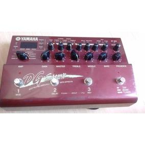 Yamaha Dg Stomp - Pré-amp + Multi Efeitos - Usado