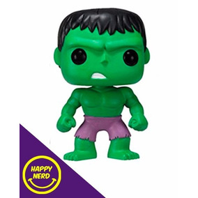 Hulk - Funko Pop Original Marvel Na Caixa