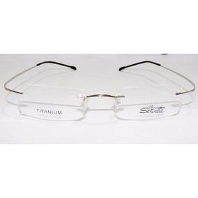 Armação Oculos Grau Titanium Sem Aro Prata Silhouette Flexiv ... adf3fe3e2e