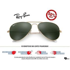 75b092dd62adf Ray Ban 3275 Lentes Polarizadas De Sol Aviator - Óculos no Mercado ...