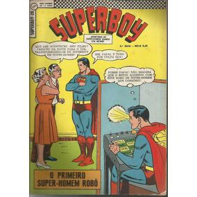 Revista Superboy 1968 (ed Ebal) 1ª Série Nº 28