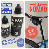 Kit Óleo Lubrificante Session S-wax 100 Ml + Fita Nomad
