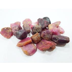 Gema Rubi Natural Bruta 1,5cm Pedra Vermelha P/coleção