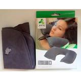 Travesseiro Para Pescoço Inflável Jilong- Travel Air Pillow