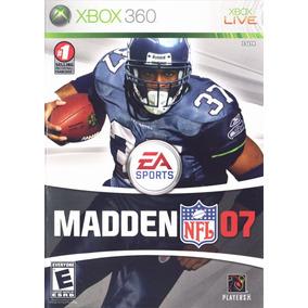 Jogo Madden Nfl 07 Xbox 360 X360 Original Físic Frete Grátis