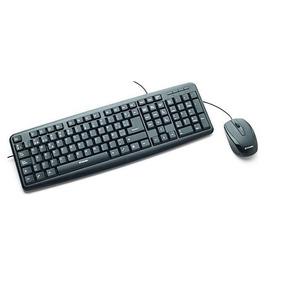 Mouse Y Teclado Optico Usb Verbatim Con Cable 98111