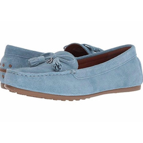 Mocasines Coach Originales Azules