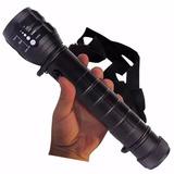 Lanterna De Led 2 Pilhas Grandes High Power Flashlight