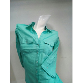 Blusa Dama Verde Agua