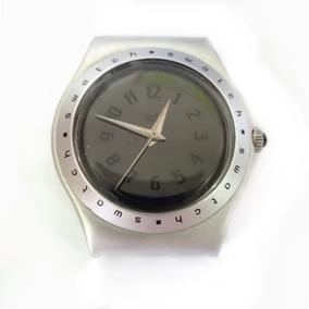 b0a5bd0c3b8 Relógio Aço Swatch Usado Funcionando