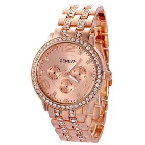 865d33ced21 Relogio Rose Feminino Geneva - Relógios no Mercado Livre Brasil