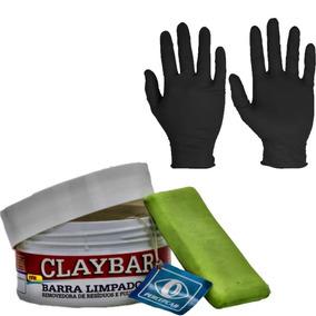 49ecb803a4da5 Clay Bar Suave P  Descontaminar Barra Abrasiva + Brinde