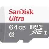 Sandisk Tarjeta Memoria Micro Sd 64gb 80mb/s Ultra