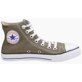 a8ba1a9f7cf All Star Verde Feminino Converse - Tênis Textil Verde musgo no ...