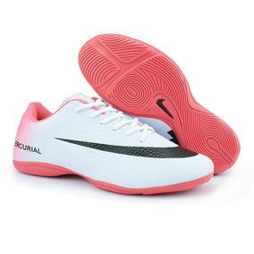 0165ea11f1e Chuteira Feminina Futsal Rosa Sergipe Aracaju Nike Shox - Chuteiras ...