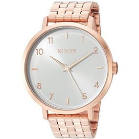 Nixon Womens Arrow Quartz Stainless Steel Casual Watch, Colo