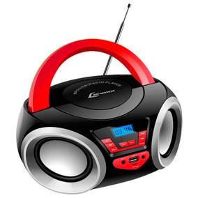 Rádio Portátil Boombox Lenoxx Bluetooth Bd110 Usb/sd/fm/aux