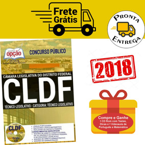 Apostila Técnico Legislativo Cldf 2018 (completa)