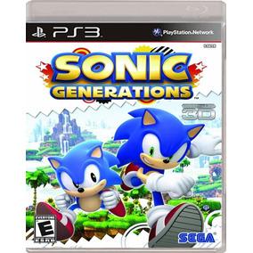 Sonic Generations Ps3 Mídia Digital Psn Promoção