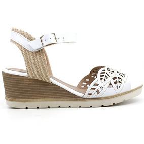 9066ff7a1e Sandalias Anabela Ramarim Feminino - Sapatos Branco no Mercado Livre ...
