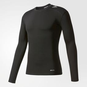 Camisa Compresão adidas Techfit Tf Base Ls Aj5016 Original 44f9d748a4906
