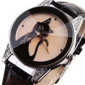 f61fdbec469 Relogio Pulso Enmex Cristal Gato Classico Dumont - Relógios De Pulso ...