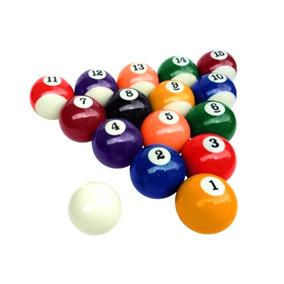 Jogo Com 16 Bolas Mini Bola Sinuca Infantil 25mm Ou 35mm ... f89db399fbee0