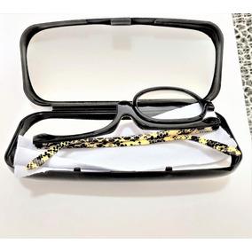 Óculos Para Maquiagem (armação Cob) + Estojo + Lenço Limpeza