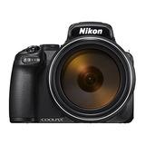 Nikon Coolpix P1000 16.7 Digital Camera With 3.2 Lcd, Black
