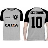 0f1d5541c8 Camisa Do Botafogo Personalizada Com Seu Nome no Mercado Livre Brasil