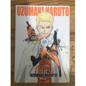 Artbook Uzumaki Naruto Japonês
