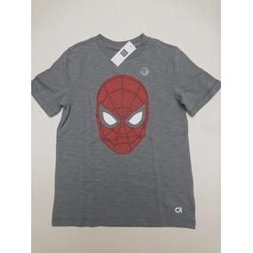 Spiderman Playera Gap Fit Niño 100% Original Con Licencia